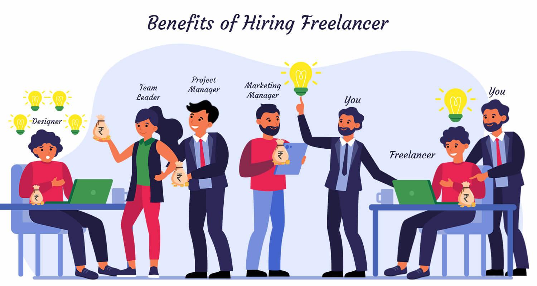 Benefits of Hiring Freelance Web Designer